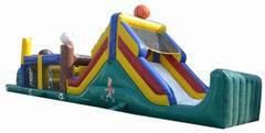 45ft Sports Obstacle Course (2 Piece Obstacle)