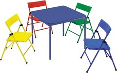 Kids 5 piece table and 4 chairs