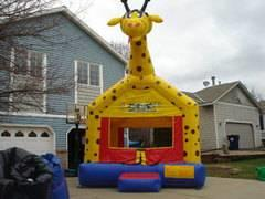 13 x13 Giraffe Bounce House