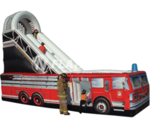 20 Ft Fire Truck Slide