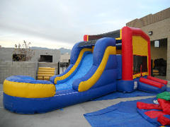 15 X 28  Water Slide Combo 4 in 1  (Requires 2 Blowers)
