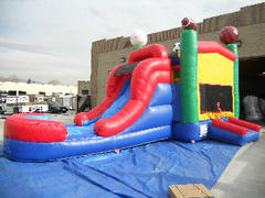 14 X 28 Water Slide 4 in 1  Sports Combo  (Requires 2 Blowers)