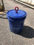 150 pound bucket weight for tents / slides