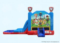 15 X 28 Paw Patrol 4 in 1 Waterslide Combo with Pool