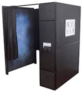 Deluxe Photo Booth Enclosed - Standing (3 Hours)