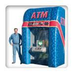 Inflatable Money Booth - ATM