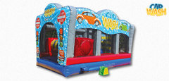 Car Wash Water Bouncer Combo Wet or dry