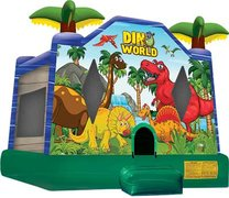 15 X 16 Dino World Bounce House - dinosaurs