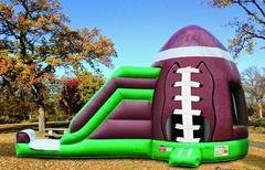 18 X 31 Football Combo Bouncer and Slide  (Requires 2 Blowers)