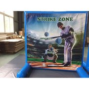 Baseball Toss Inflatable Frame Game