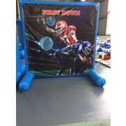 Football Toss Inflatable Frame Game