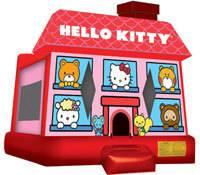 15 X 15 Hello Kitty Bounce House