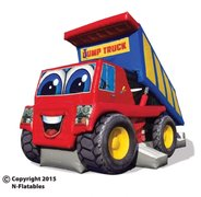 Jump Truck Combo Bouncer with Slide 14 X 29 X 18
