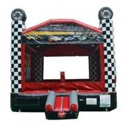 14 X 14 Race Car Speedway Bounce House