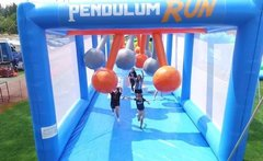 50' Pendulum run - Running challenge obstacle course