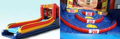 Inflatable Skee Ball - Skill Game