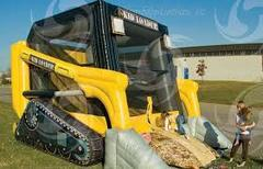 14 X 19 Skid Loader Moonwalk