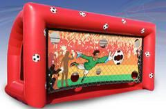 Inflatable Soccer Goal Target Game