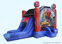 15 X 28 Spider-Man Combo Bouncer with slide