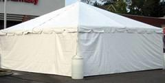 20 X 20 Tent Side