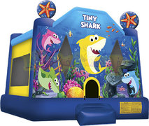 15 X 16 Tiny Shark Bounce House
