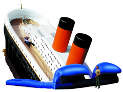 25ft Titanic Thrill Slide