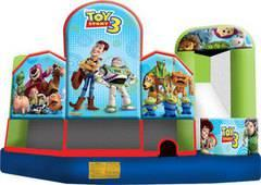 19 X 20 Toy Story 5 in 1 Combo wet or Dry Slide