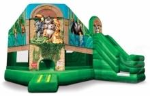 19 X 20 Zoo 3 in 1 Combo Bouncer with Slide