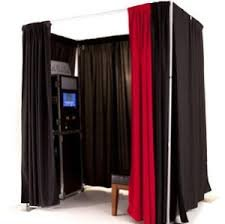 Photo Booth With Drape Surround (original) - 4 Hour Rental