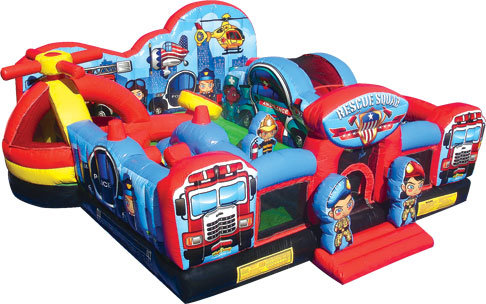 19 X 20 Rescue Squad Toddler Playland