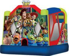 16 X 20 Toy Story 4 in 1 Combo - Bouncer with Slide