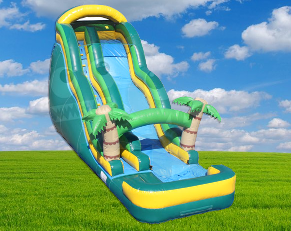 20' Tropical Wave Water Slide (Requires 2 - 1.5 HP Blowers)