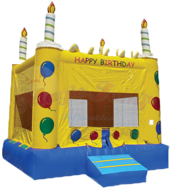 Cake Bounce House - Dry