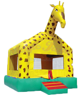 Giraffe Bounce House - Dry