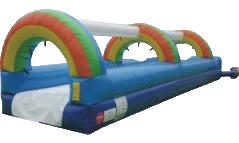 Rainbow Slip-N-Slide