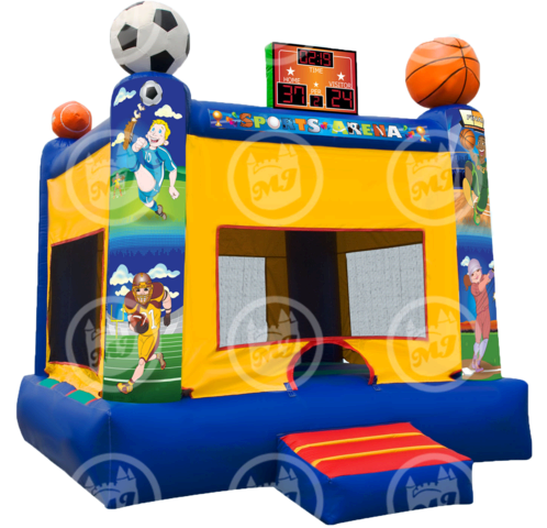 Sports Arena Bounce House - Dry