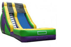 (B) 18ft Screamer Wet-Dry Slide