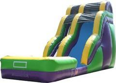 (B) 18ft Wave Wild Rapids Wet-Dry Slide