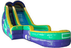 (C) 24ft Screamer Wet-Dry Slide