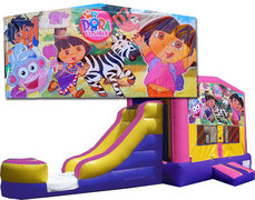(C) Dora The Explorer Bounce Slide Combo