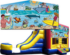 (C) Seaside Bounce Slide Combo