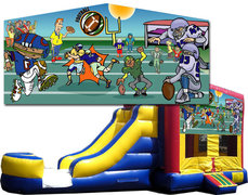(C) Football Bounce Slide Combo