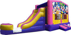 (C) Mickey & Friends Pink Bounce Slide Combo