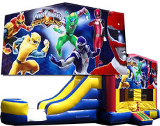 (C) Power Rangers Bounce Slide Combo
