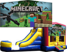 (C) Minecraft Bounce Slide Combo