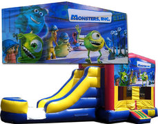 (C) Monsters Inc Bounce Slide Combo