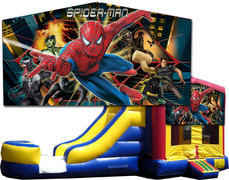 (C) Spider-Man Bounce Slide Combo