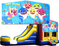 (C) Baby Shark Bounce Slide Combo