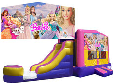 (C) Barbie Bounce Slide Combo