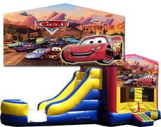 (C) Cars Bounce Slide Combo